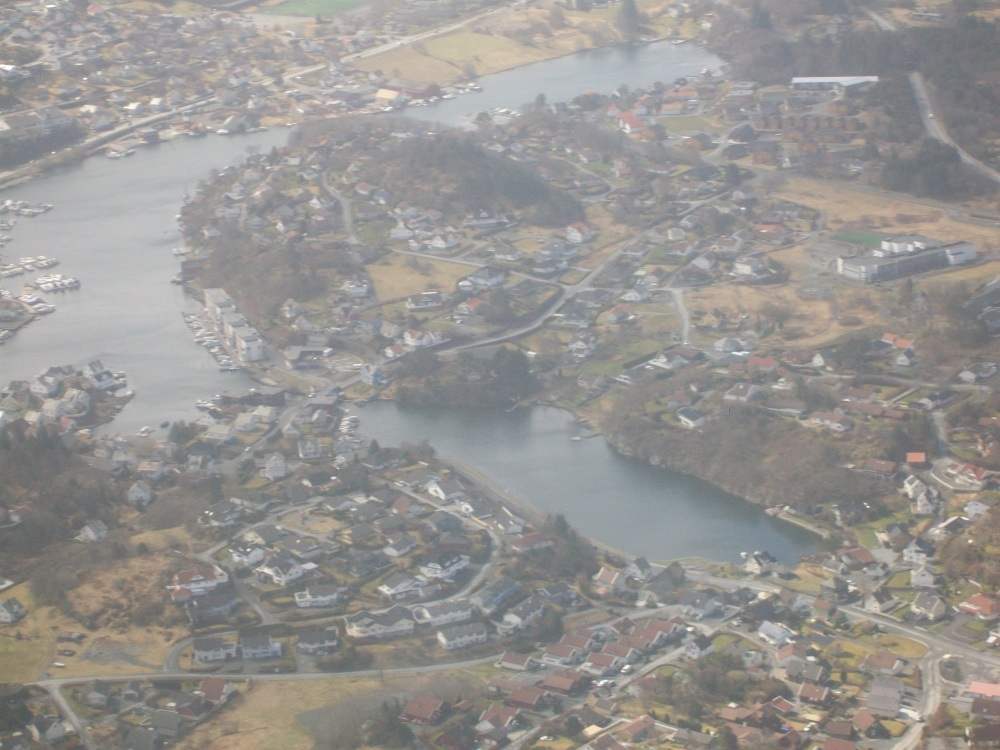 Flying into Haugesund, Viking Homeland, Western Norway (3/6)