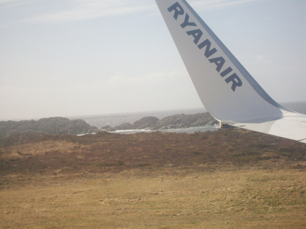 Flying into Haugesund, Viking Homeland, Western Norway (5/6)