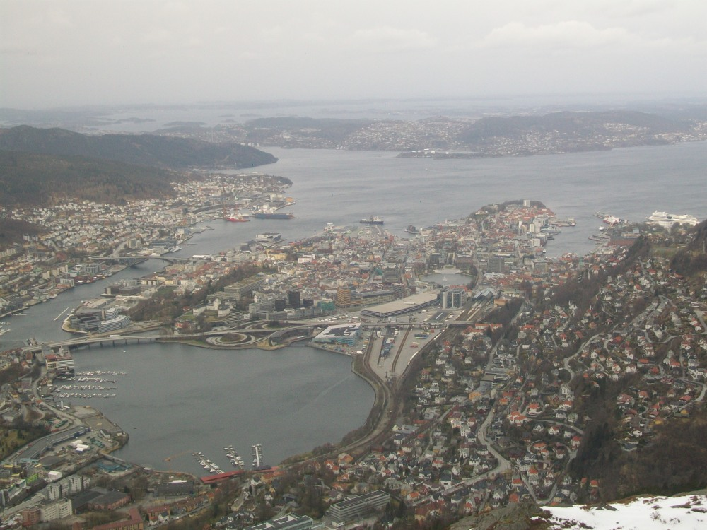 Climbing Mount Ulriken, Bergen, Norway (6/6)