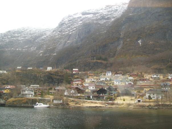 Hardangerfjord between Bergen and Voss.