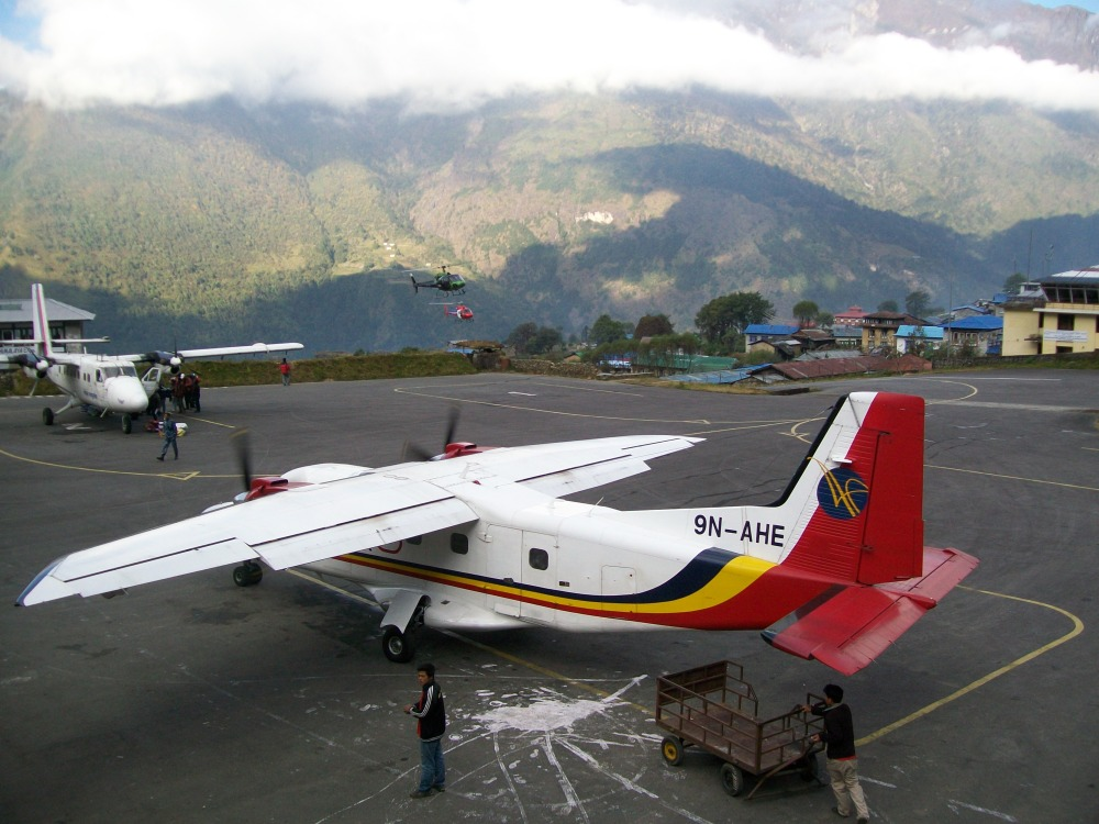 Nepal Trek Lukla to Kathmandu Flight (1/5)